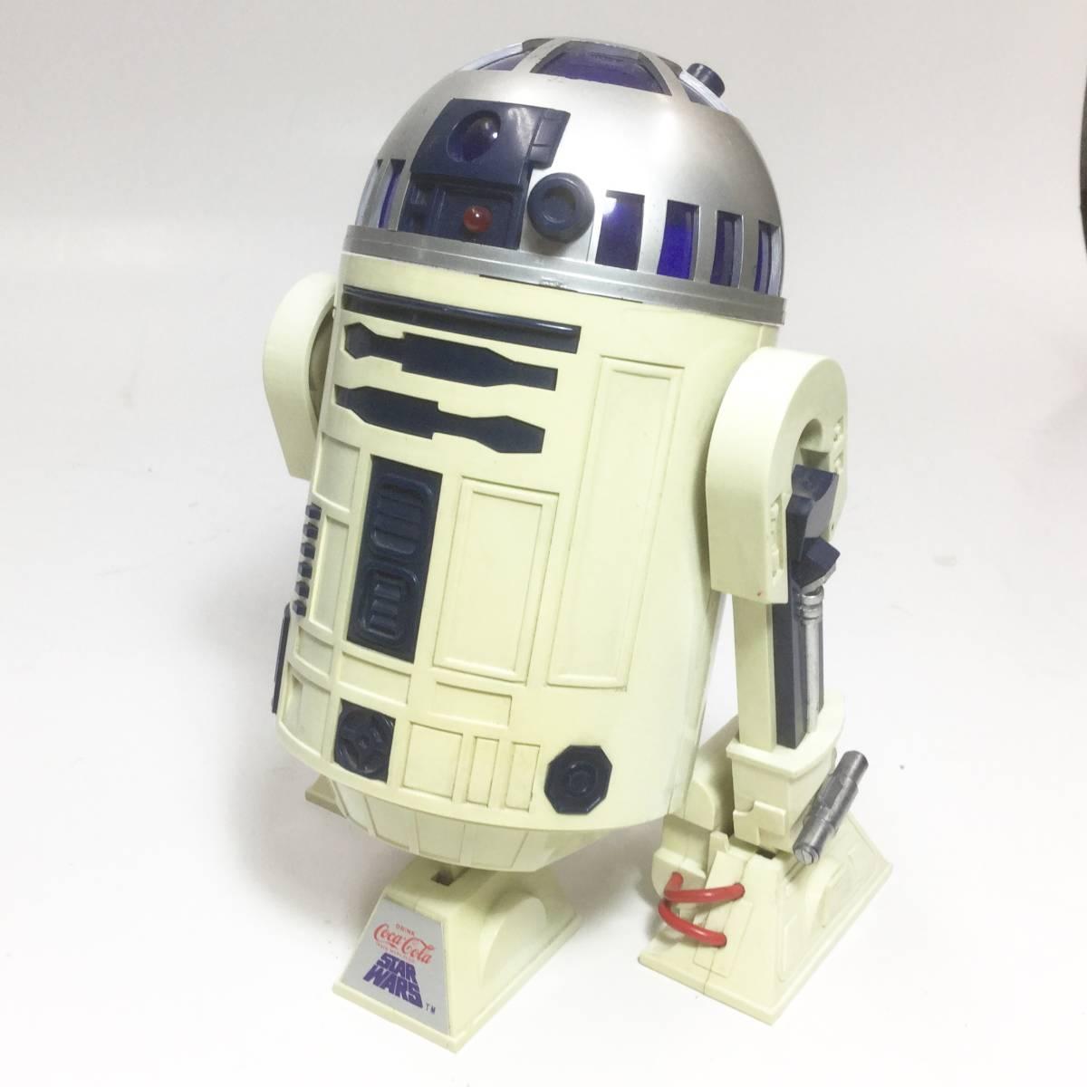 R2-D2 ラジオ 作動品 スターウォーズ 1977年版 コカコーラ 懸賞品 非売品 レトロ ビンテージ _画像2