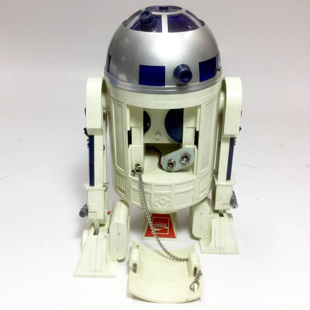 R2-D2 ラジオ 作動品 スターウォーズ 1977年版 コカコーラ 懸賞品 非売品 レトロ ビンテージ _画像8