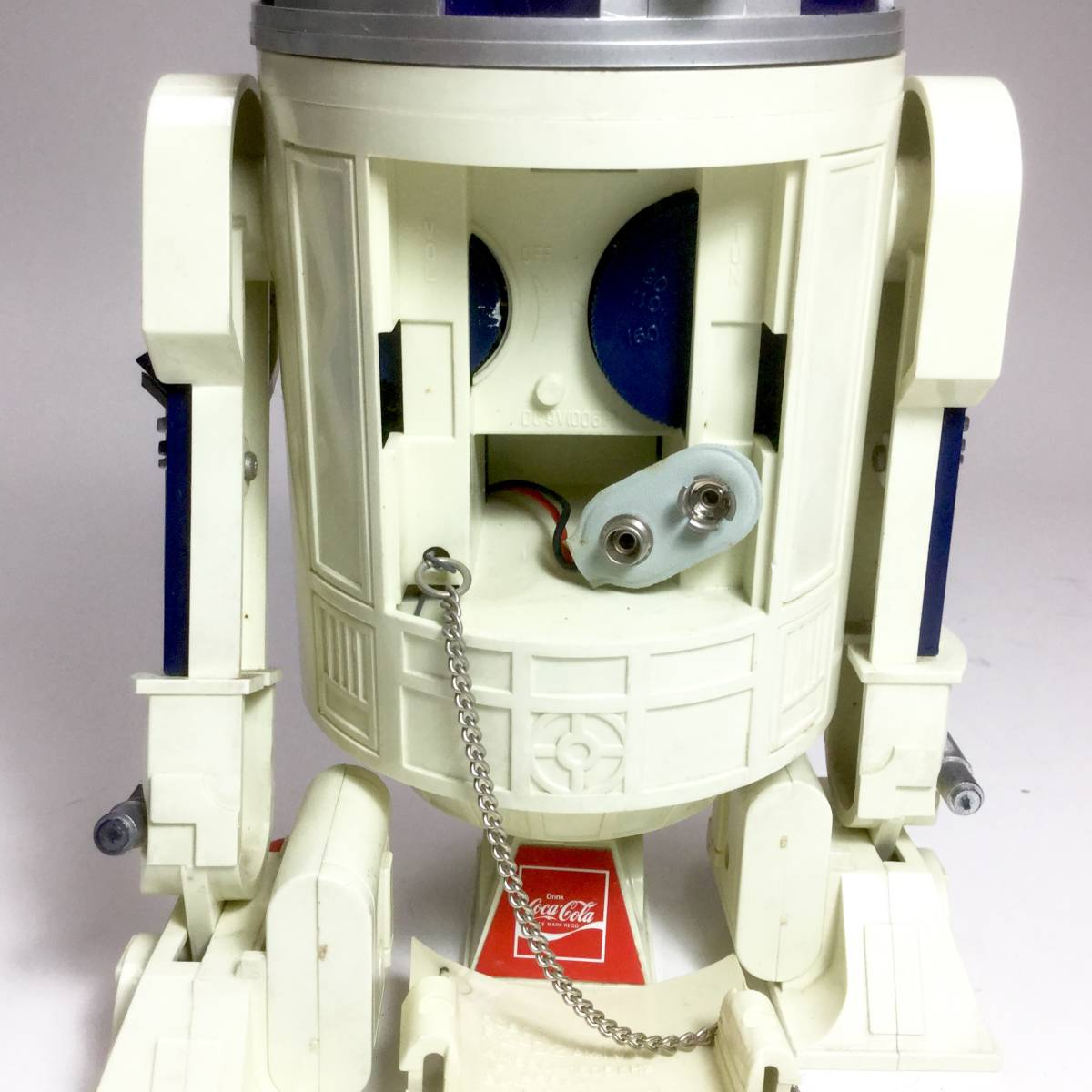R2-D2 ラジオ 作動品 スターウォーズ 1977年版 コカコーラ 懸賞品 非売品 レトロ ビンテージ _画像9