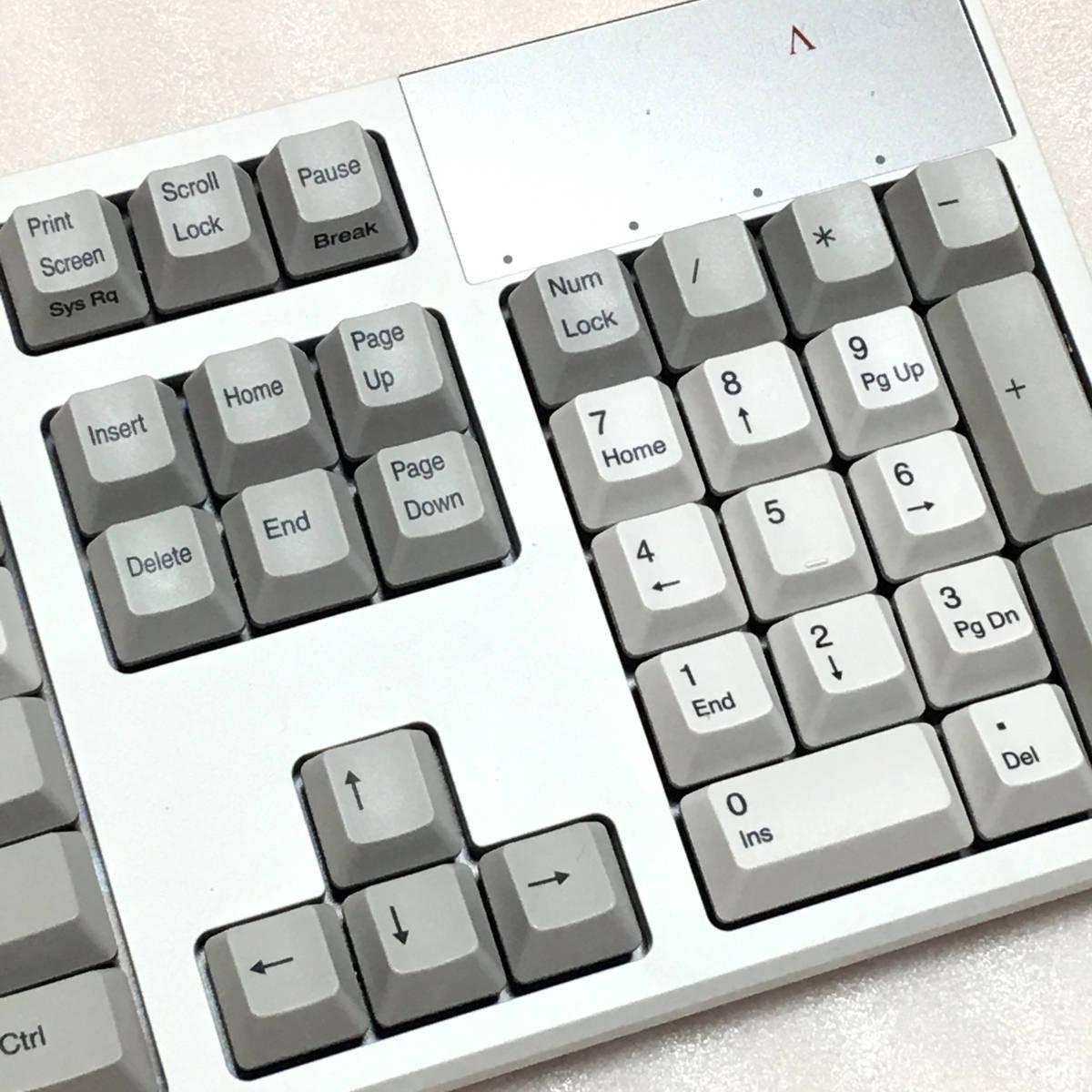 新品同様 東プレ R2-USV-IV アイボリー REALFORCE R2 [フルキーボード 有線 英語配列104キー 変荷重]_画像4
