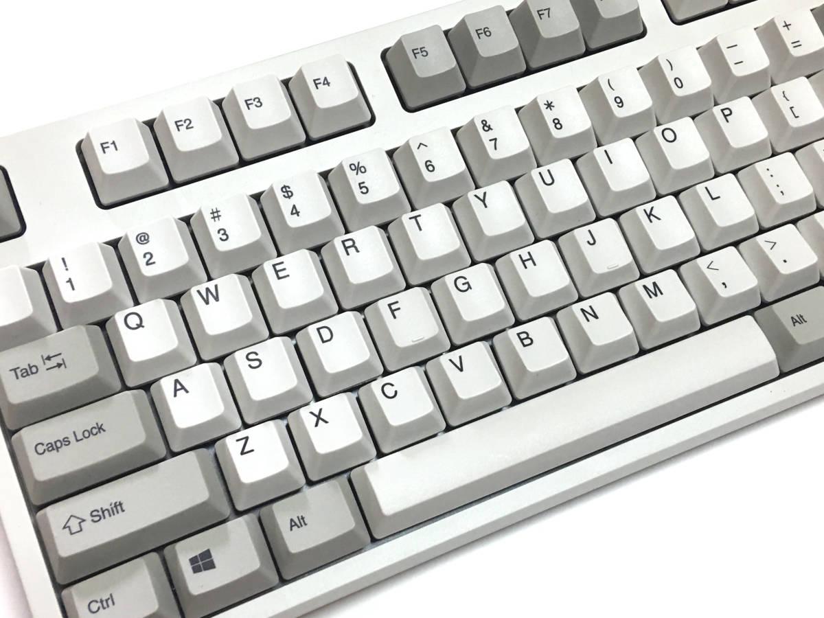 新品同様 東プレ R2-USV-IV アイボリー REALFORCE R2 [フルキーボード 有線 英語配列104キー 変荷重]_画像2