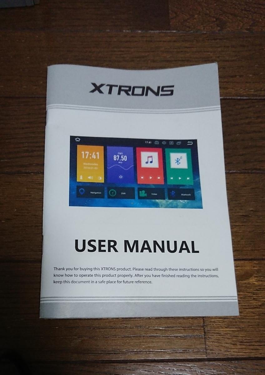 XTRONS 10.1インチ 2DIN 8コア Android8.0 DVDプレーヤー カーナビ 2DIN WIFI ミラーリング アンドロイドナビ 中古 1円~_画像4