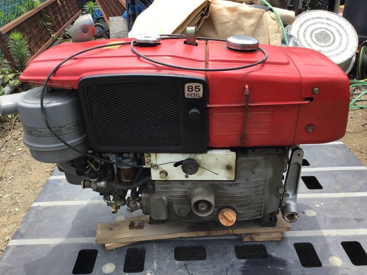 三菱 ディーゼルエンジン NM85 8,5馬力 動作良好 ディーゼル発動機 中古動作品_画像3