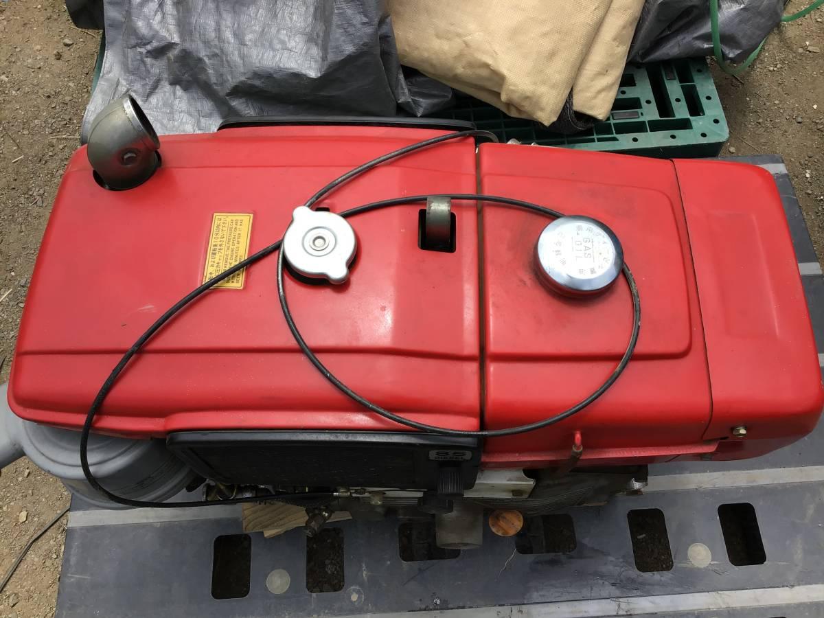 三菱 ディーゼルエンジン NM85 8,5馬力 動作良好 ディーゼル発動機 中古動作品_画像4