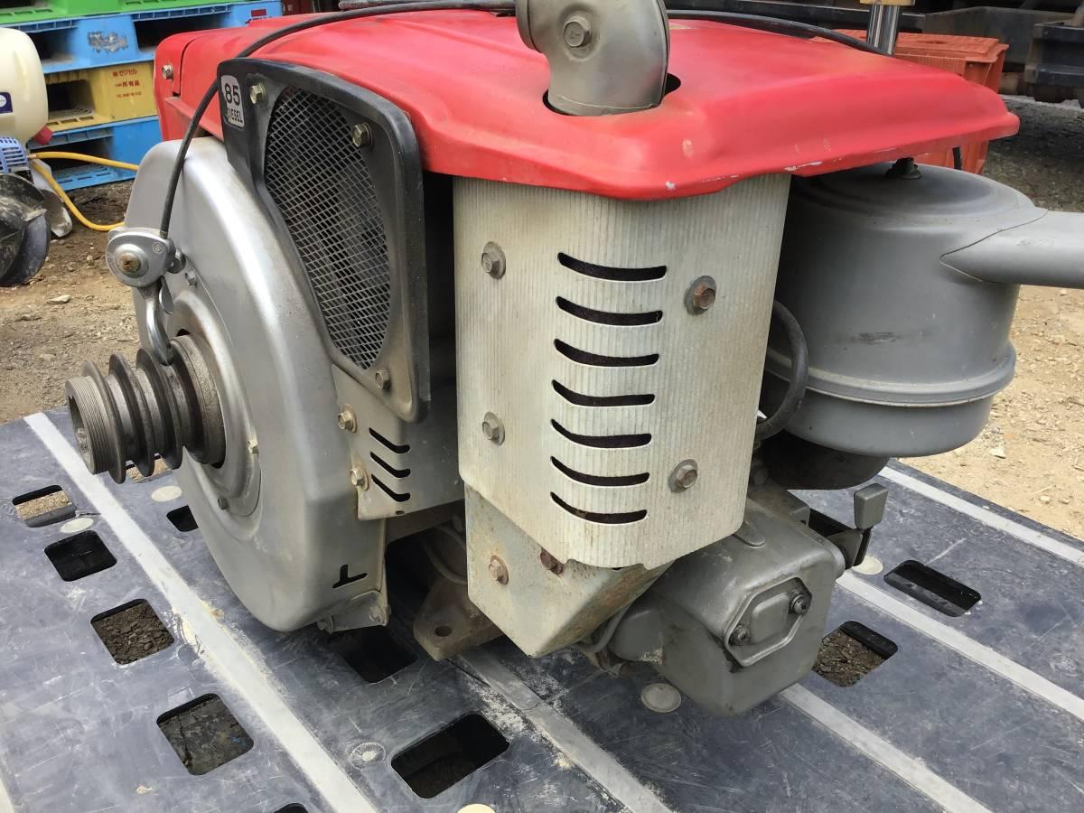 三菱 ディーゼルエンジン NM85 8,5馬力 動作良好 ディーゼル発動機 中古動作品_画像6