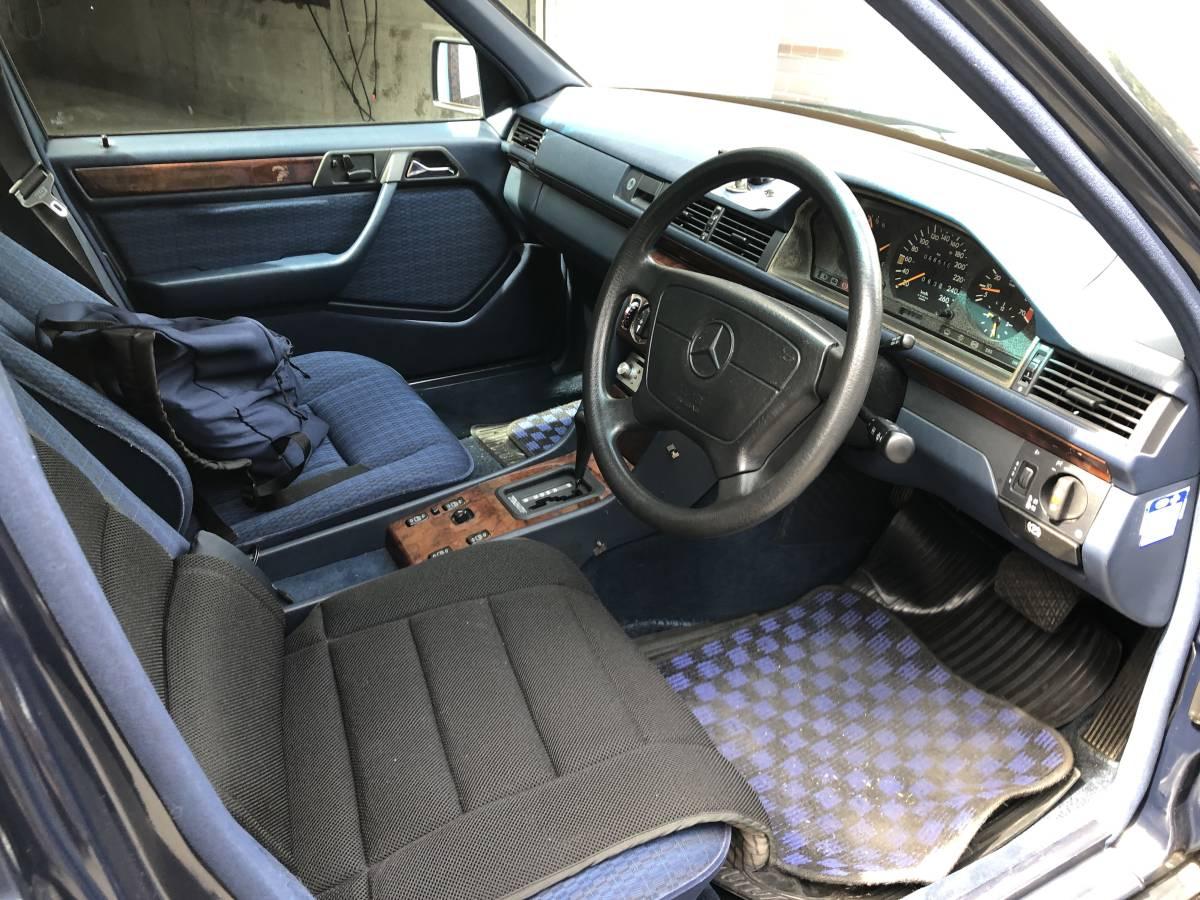 Mercedes Benz メルセデスベンツ ミディアムクラス ツーオーナー車 W124 320E 93年式 H.5年式 実走行_画像6