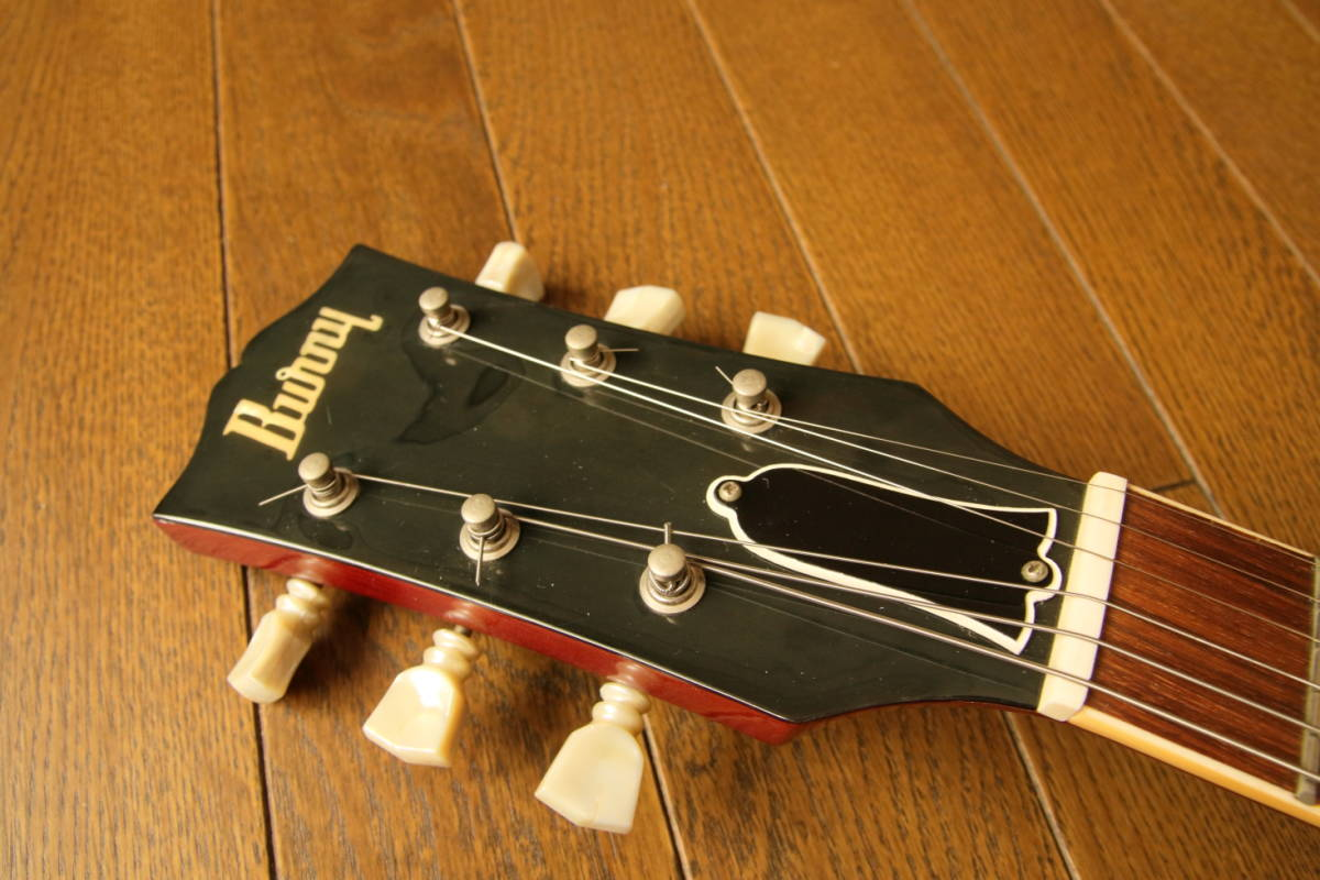 フェルナンデス/Bunnyレスポール RLG60(78~80年代初頭)東海楽器(トーカイ/Tokai)製造 ジャパンビンテージ ジャンク品_画像2