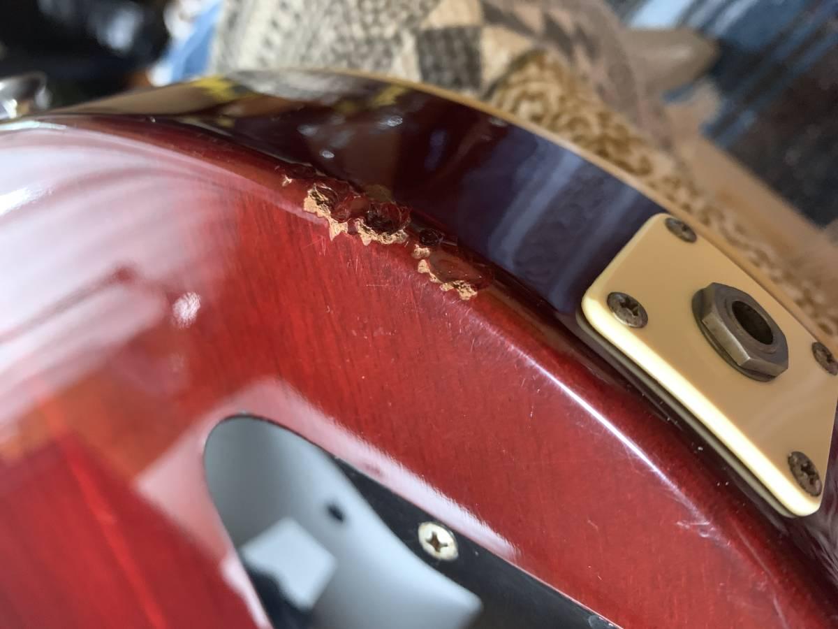 フェルナンデス/Bunnyレスポール RLG60(78~80年代初頭)東海楽器(トーカイ/Tokai)製造 ジャパンビンテージ ジャンク品_画像8