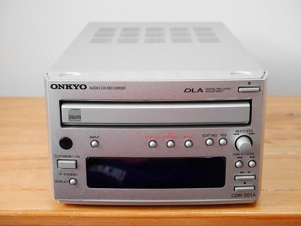 ONKYO オンキョー CDレコーダー CDR-201A ジャンク