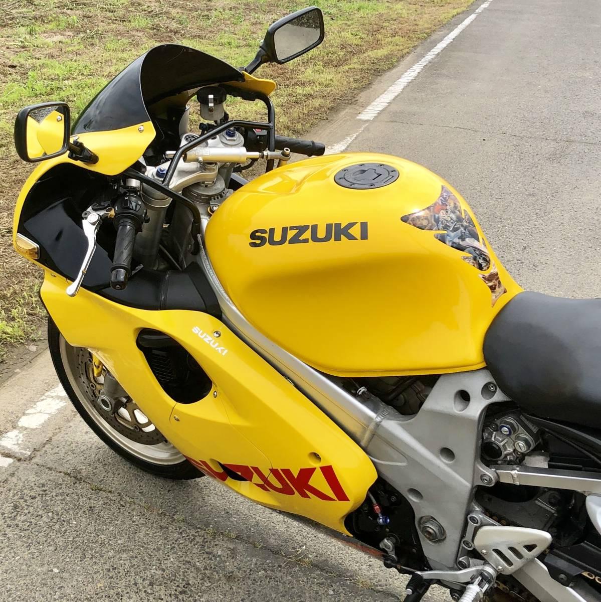 TL1000R VT52A 実動 書類付き 平成10年 大迫力 スズキ 検) TL GSX GT GS FX Z1 XS XJ CB CBR ZX FZ YZF ZZR SS GSF X11 ハヤブサ ゼファー_画像6