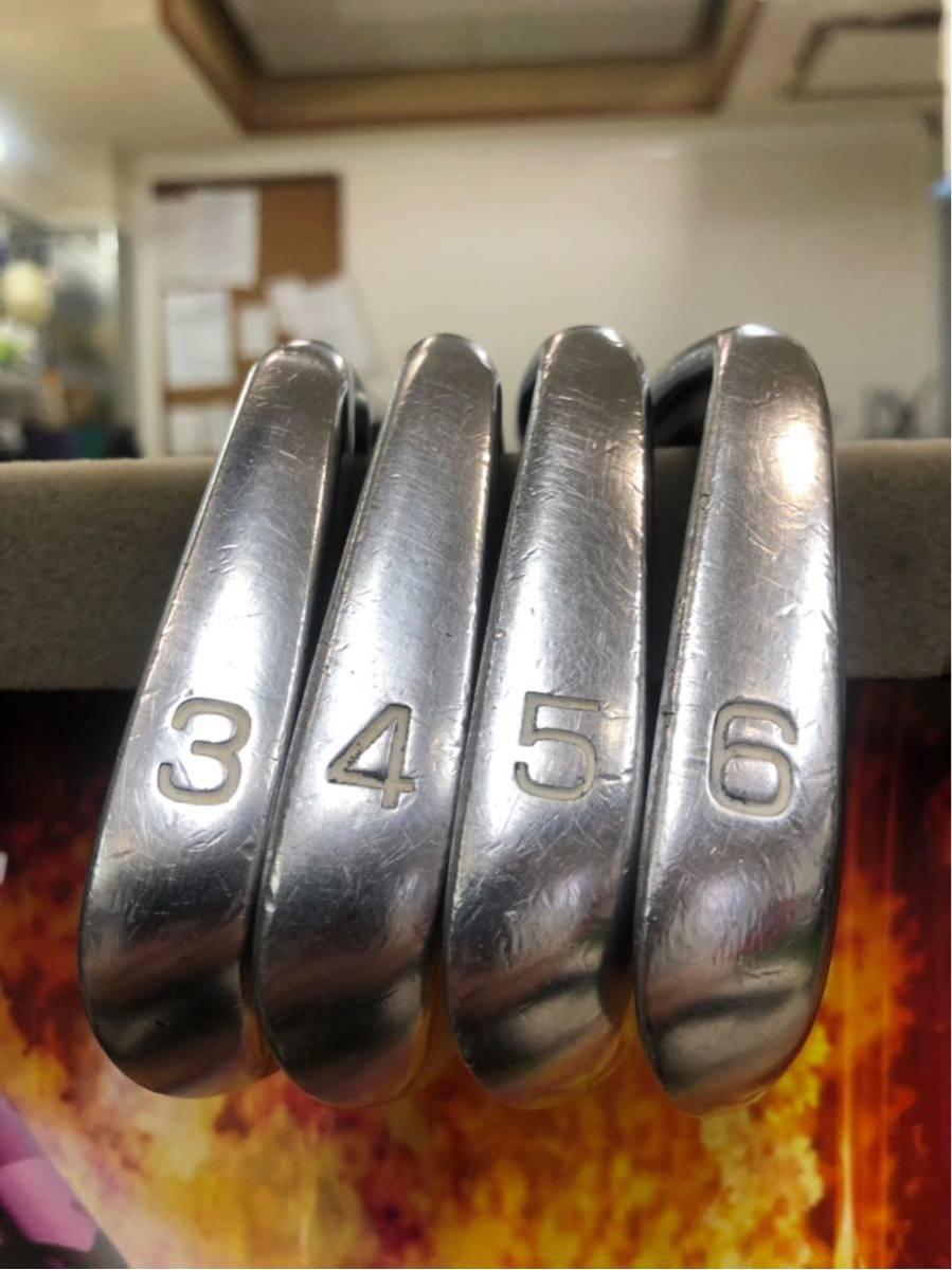 名器・激レア★ミズノプロ・クラフトモデル・911・プレシジョン・FM5.5・9本・3~11★_画像6