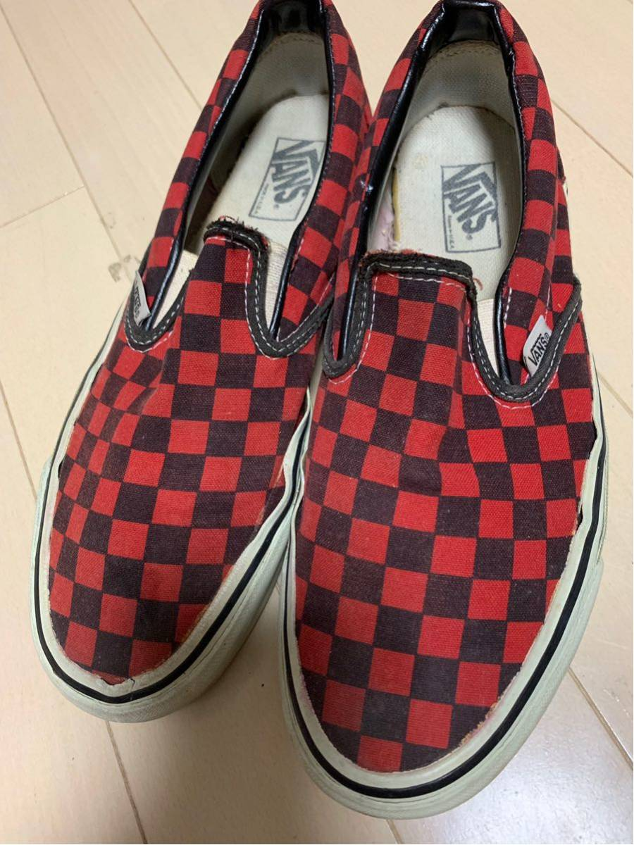 vans usa製 スリッポン slipon era エラ vintage oldskool アメリカ製 90s 80s 70s 9.5 10 27.5 powell dogtown santa cruz
