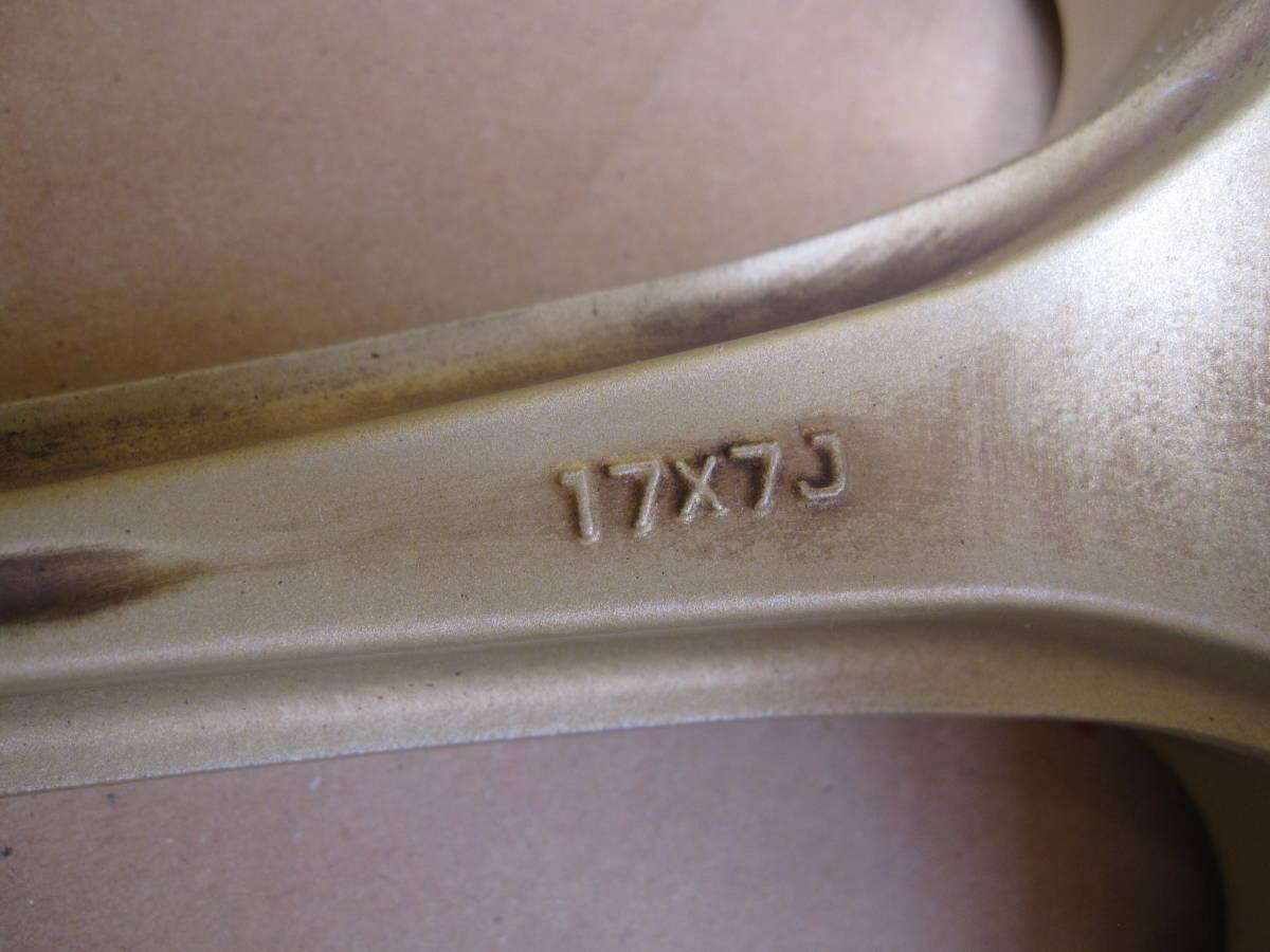 人気 yokohama AVS モデル7 17インチ 7J PCD114.3 5穴 オフセット+40 _画像6