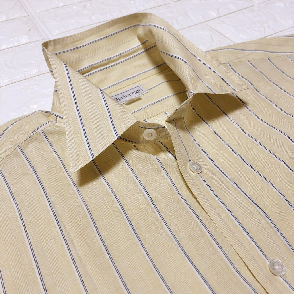 バーバリーの長袖ワイシャツカッターシャツ