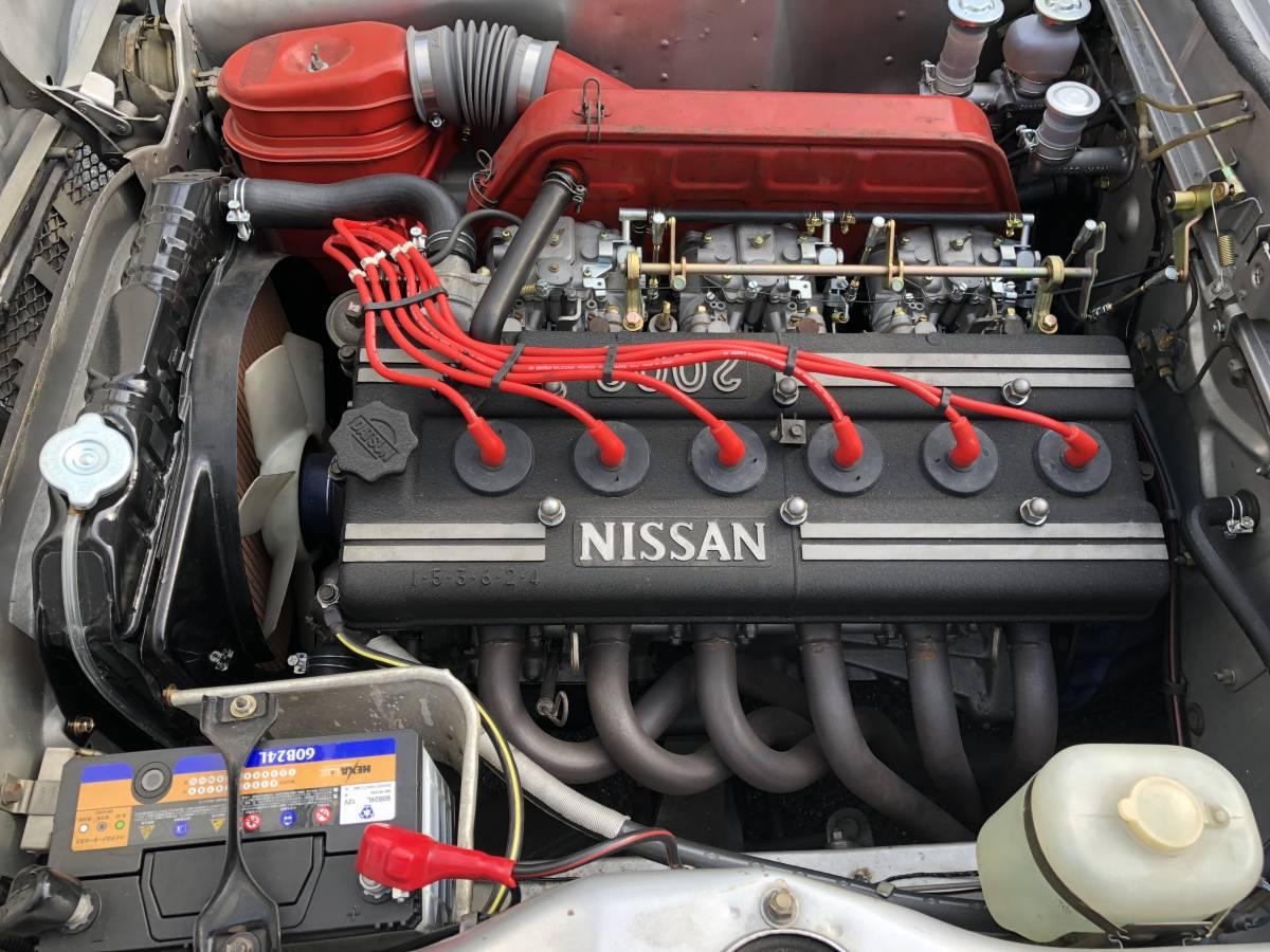ニッサン ハコスカ スカイライン GT-R s20 #s30 ケンメリ グロリア セドリック_画像4