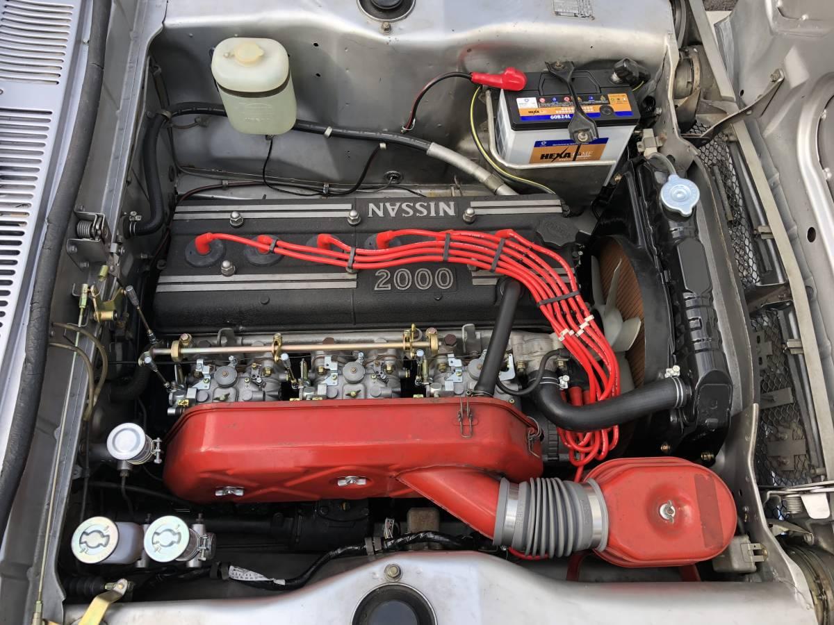 ニッサン ハコスカ スカイライン GT-R s20 #s30 ケンメリ グロリア セドリック_画像6