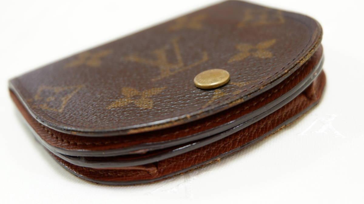 【売切税込】LouisVuittonルイヴィトン コインケース小銭入れ/モノグラムOK品◆Used_画像5