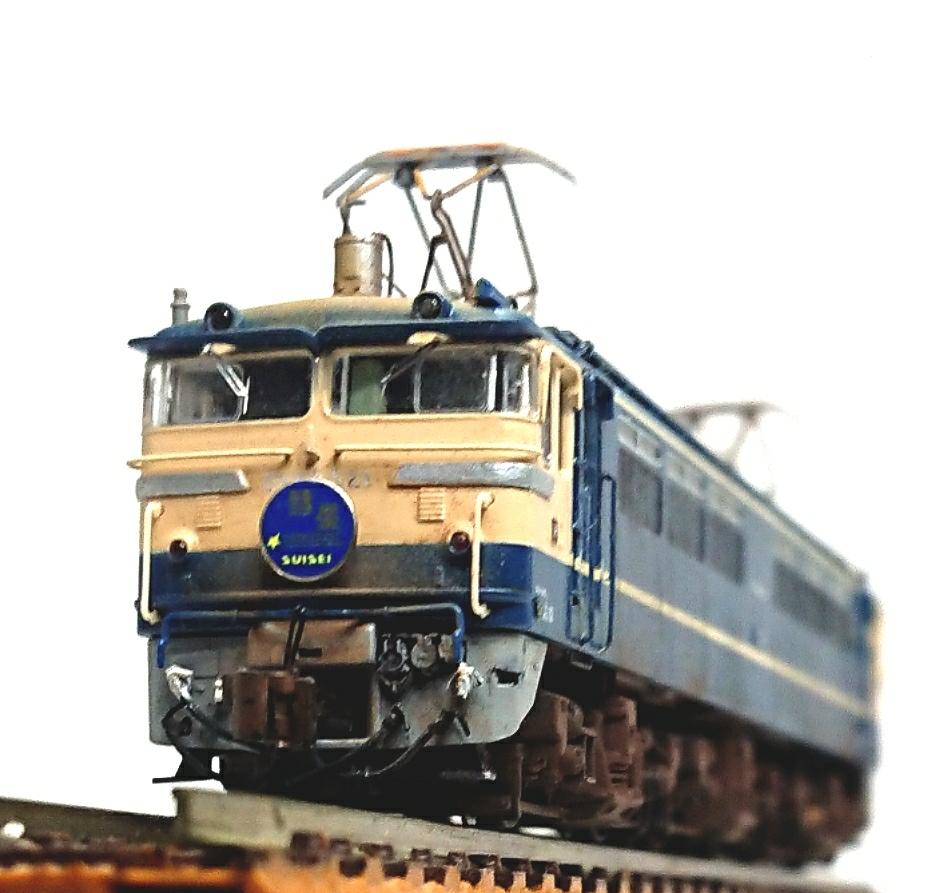 Электровоз 1  KATO3060 2EF65 500F  521