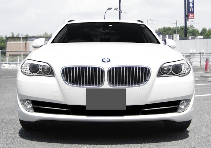 ◆売切り◆25年BMW528iツーリング ツインターボ純正HDDマルチ地デジTV純正黒本革シート検