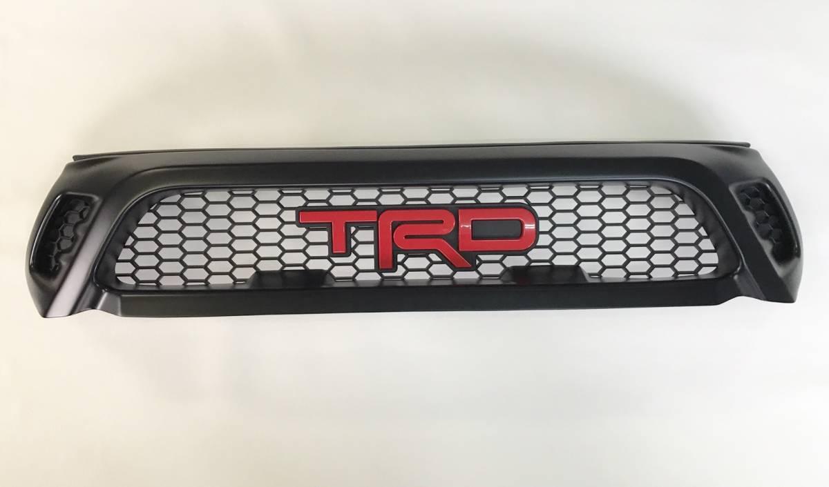 新型ハイラックス フロント グリル Ver.2 タイ TRD Asia 正規品 即納 国内発送トヨタ TOYOTA HILUX GUN125 適合注意 Xグレードのみ適合_国内在庫品を発送致します。