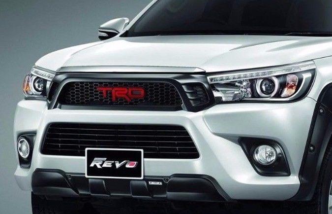新型ハイラックス フロント グリル Ver.2 タイ TRD Asia 正規品 即納 国内発送トヨタ TOYOTA HILUX GUN125 適合注意 Xグレードのみ適合_Xグレードのみ(除くZグレード)