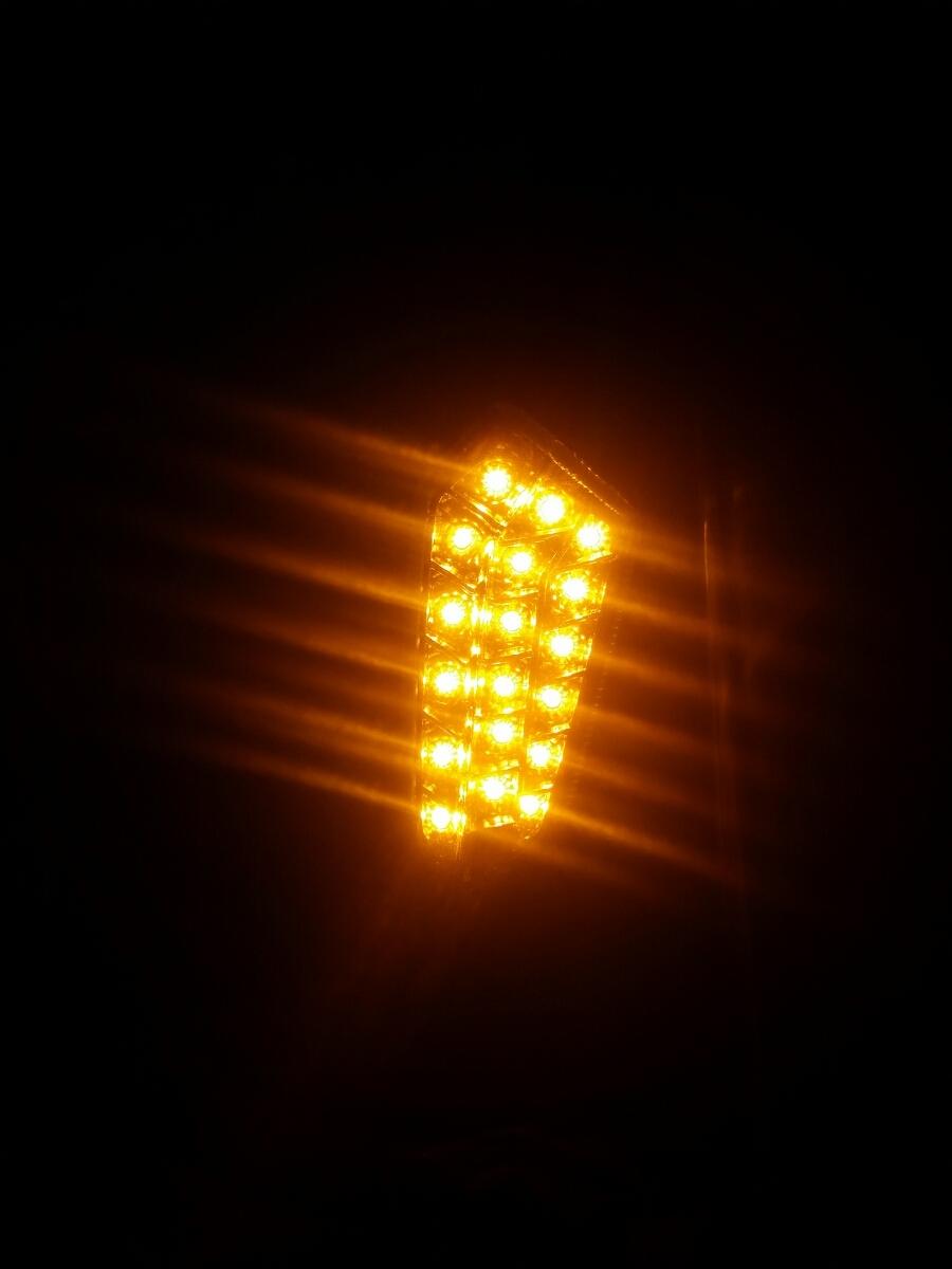 高感度LEDなので直視したら眩しいです