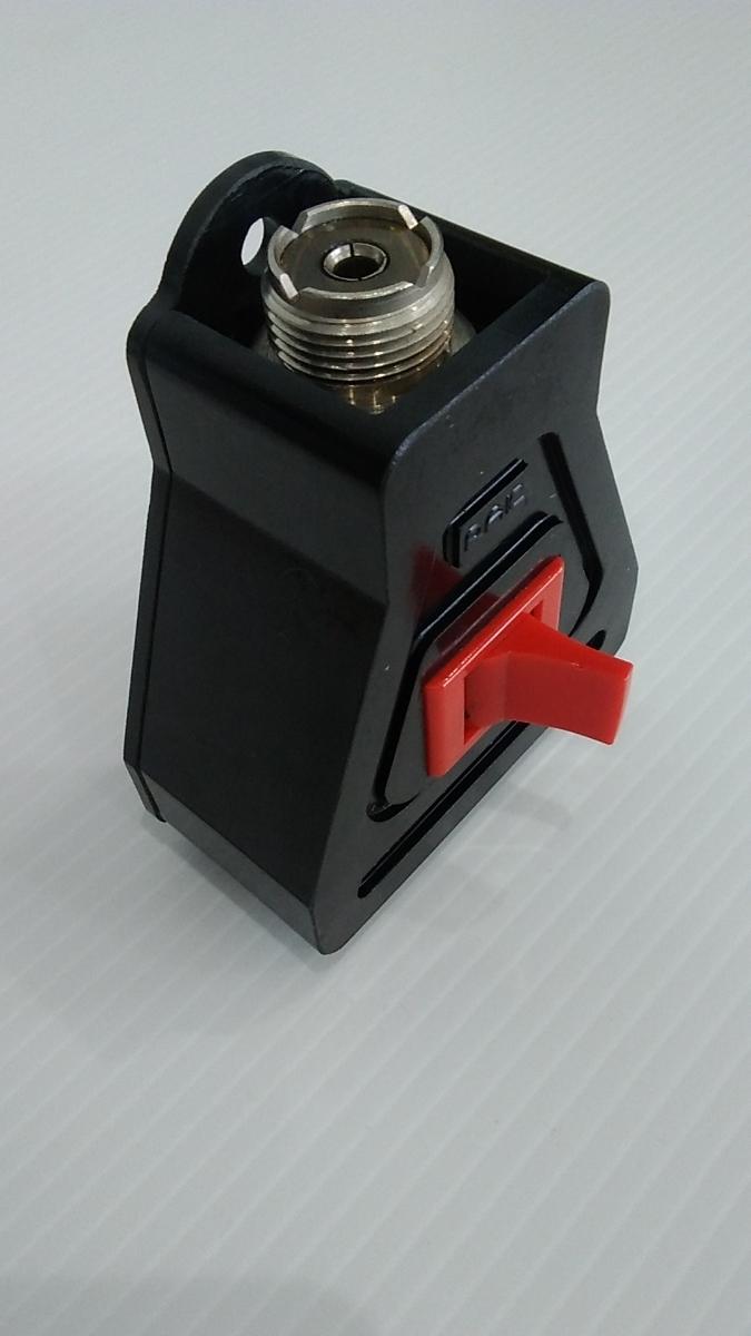 RAIC アンテナ切替器 COAX SWITCH CX-2A A52M 同軸切替器 同軸ケーブル切替器 アマチュア無線 業務用 無線機材 スイッチ 中古品