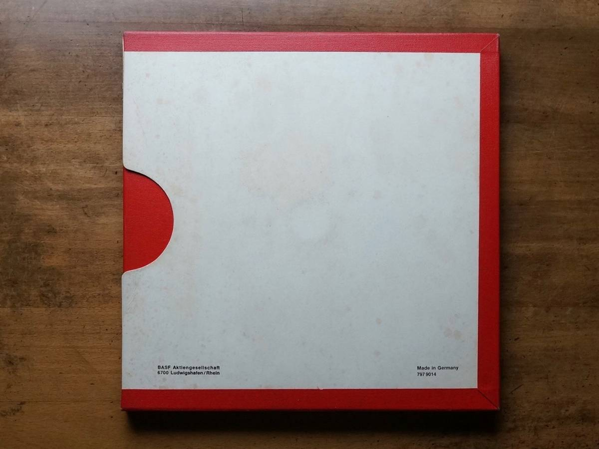 "Used★2TR38cm【Basf LP35 LH】1/4""×3600ft Non-Coated AudioTape★w/Metal Reel★10号オープンリール_画像5"