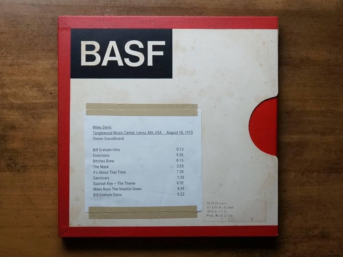 "Used★2TR38cm【Basf LP35 LH】1/4""×3600ft Non-Coated AudioTape★w/Metal Reel★10号オープンリール_画像4"