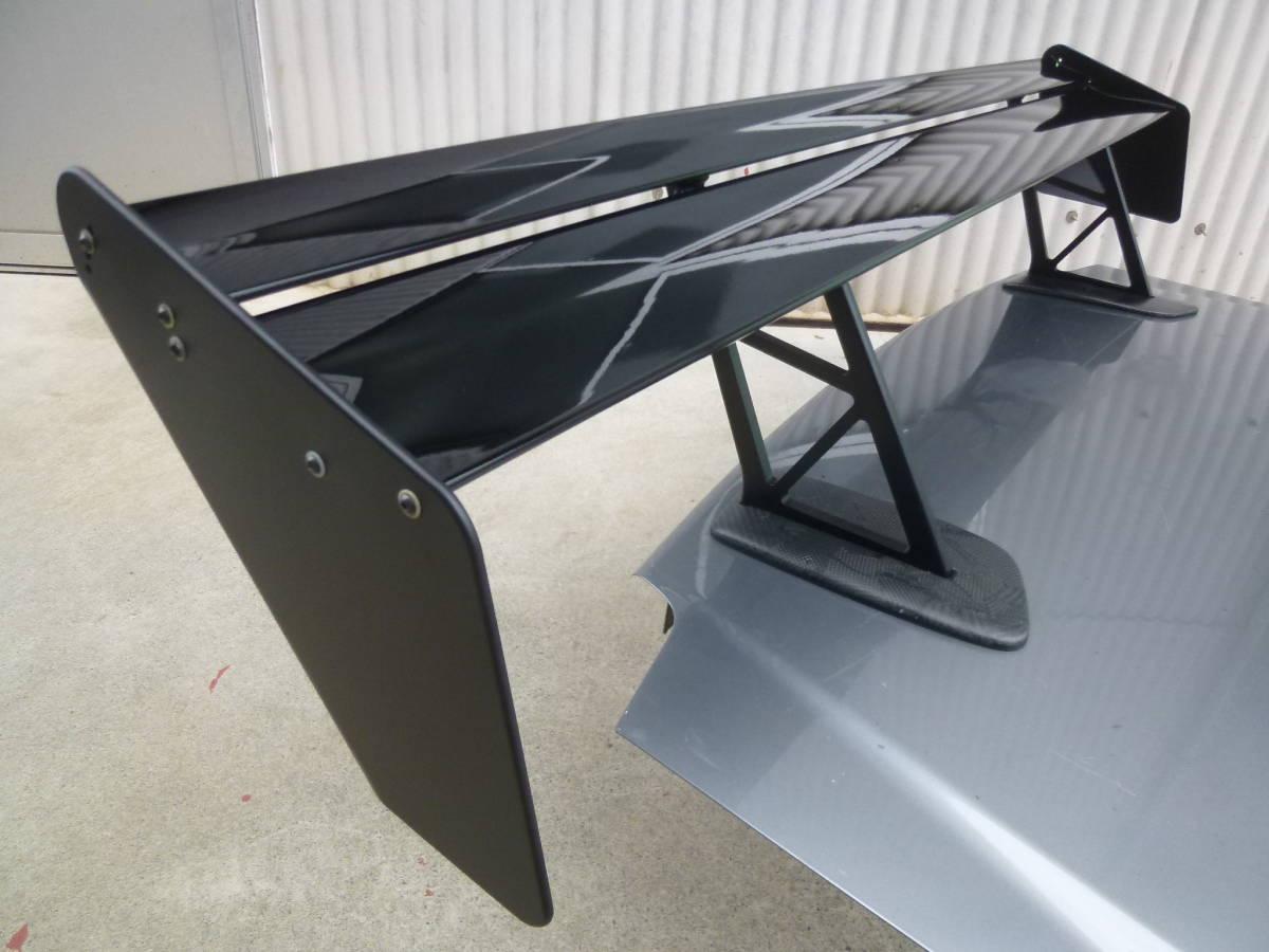 R34 スカイライン GT-R GT ウイング ARC ポン付け可能 リア スポイラー リペイント品_画像8