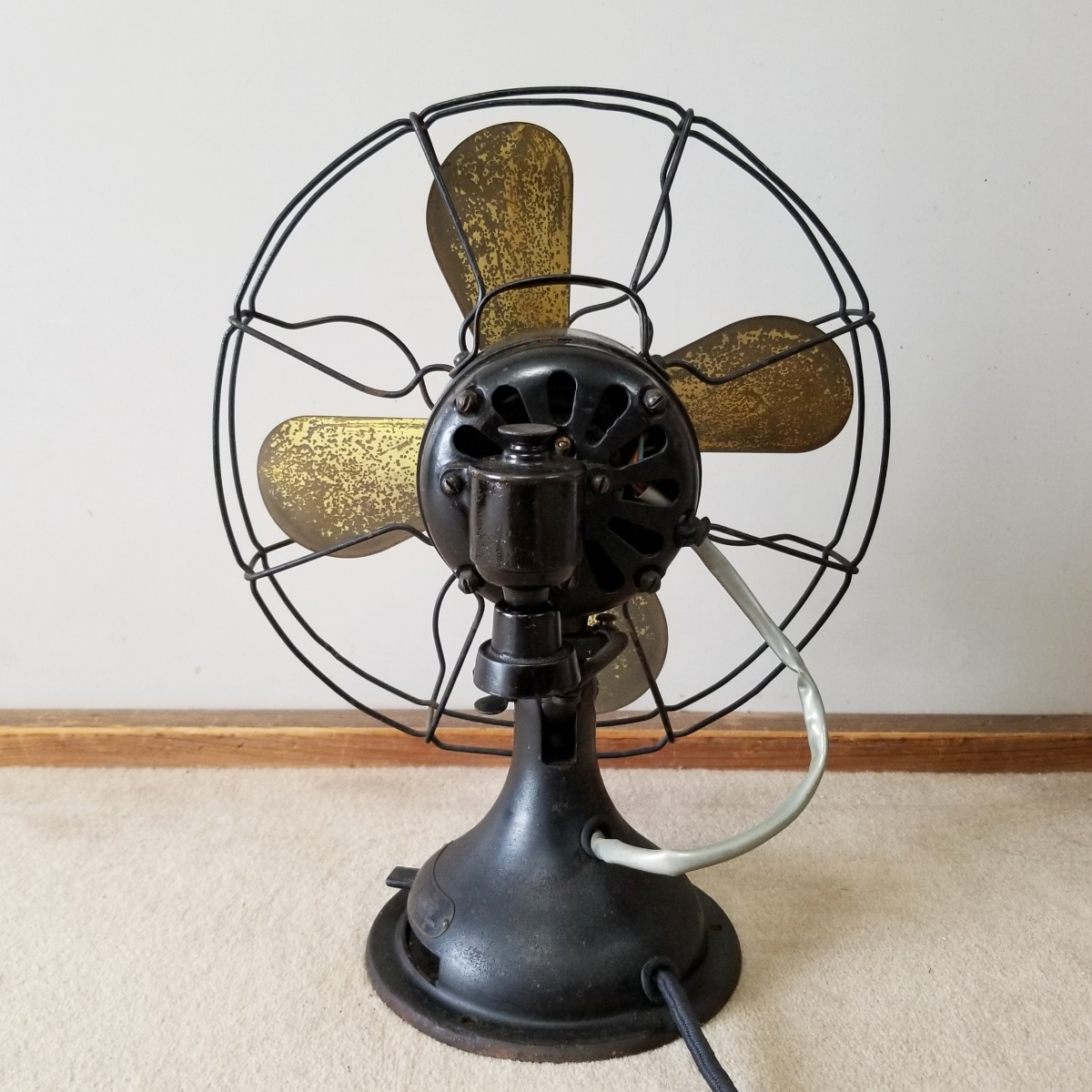 東京芝浦電気製 戦前 扇風機 可動品_画像2
