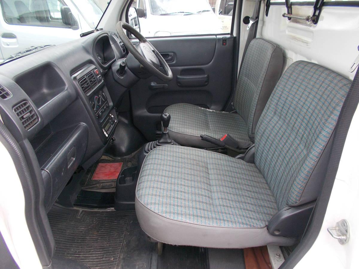 新潟 13年アクテイトラック HA7 4WD 5MT パワステ エアコン ウインチ付き(有線リモコン付き) タイベル交換済み_画像9