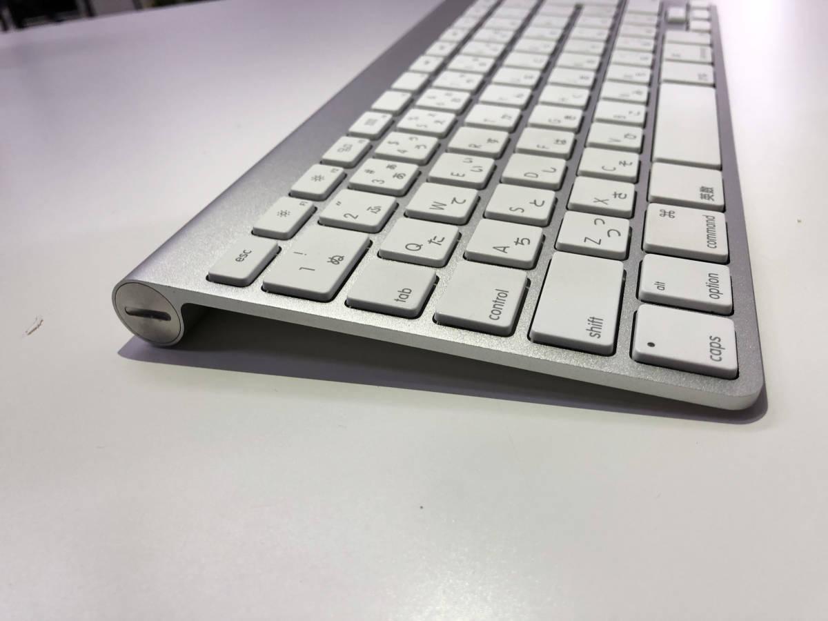 Apple Wireless Keyboard (JIS) MC184J/A_画像5