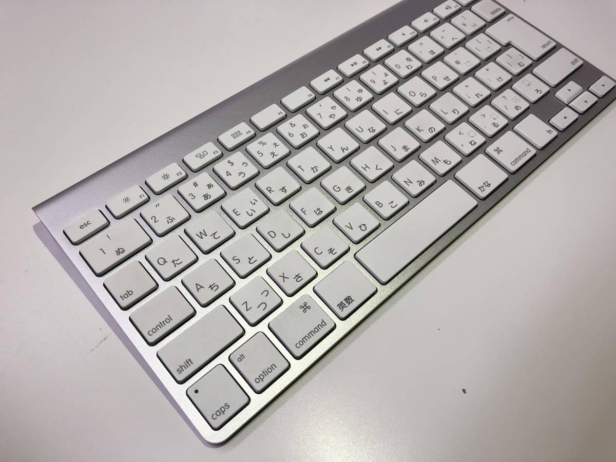 Apple Wireless Keyboard (JIS) MC184J/A_画像2