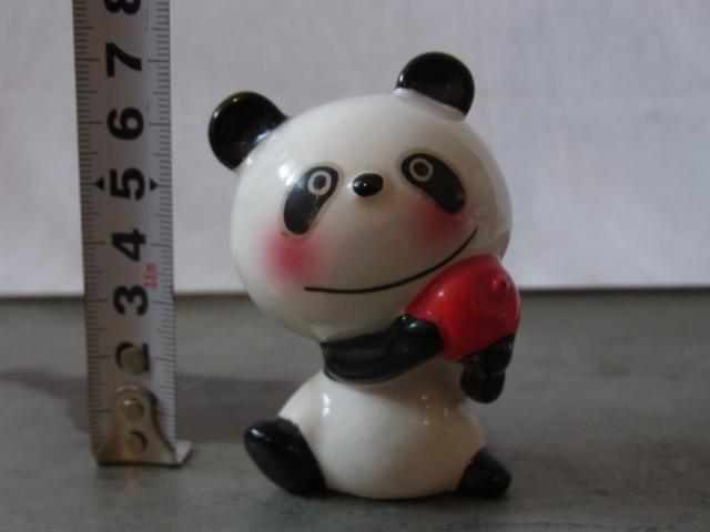蔵出◆ 磁器人形 ルネパンダ3 内藤ルネ RUNE ◆ 当時物 人形 昭和レトロ オブジェ アート_画像6