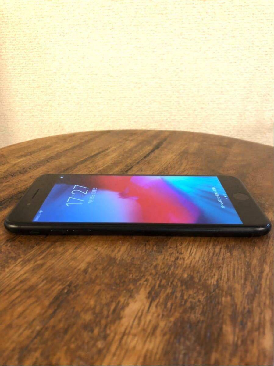 【1円】Apple iPhone7 Plus 128GB ブラック A1785 MN6F2J/A バッテリ86%■au_画像7