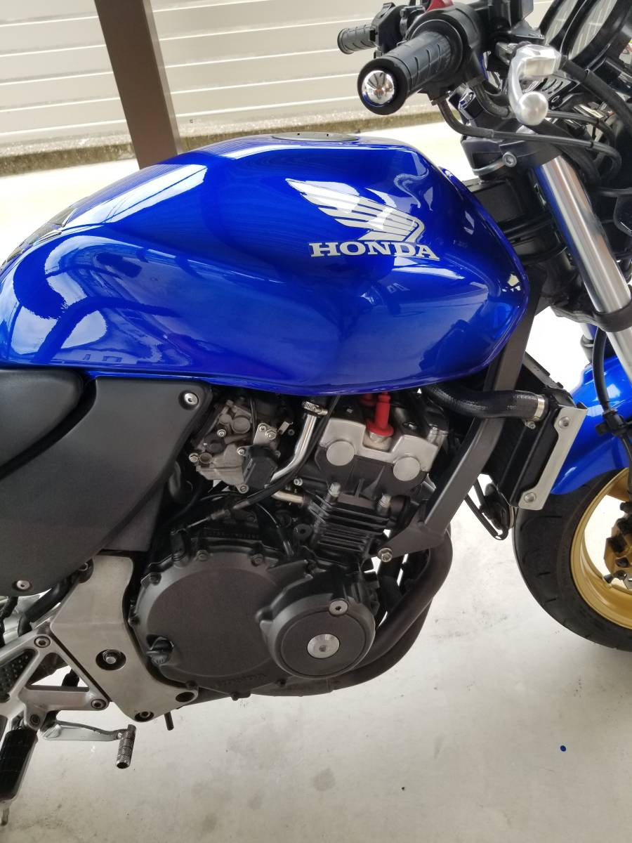 ホーネット250 ホンダ HORNET HONDA MC31-140*** 2005年以降ガソリンメーター付 後期型 実動車_画像6