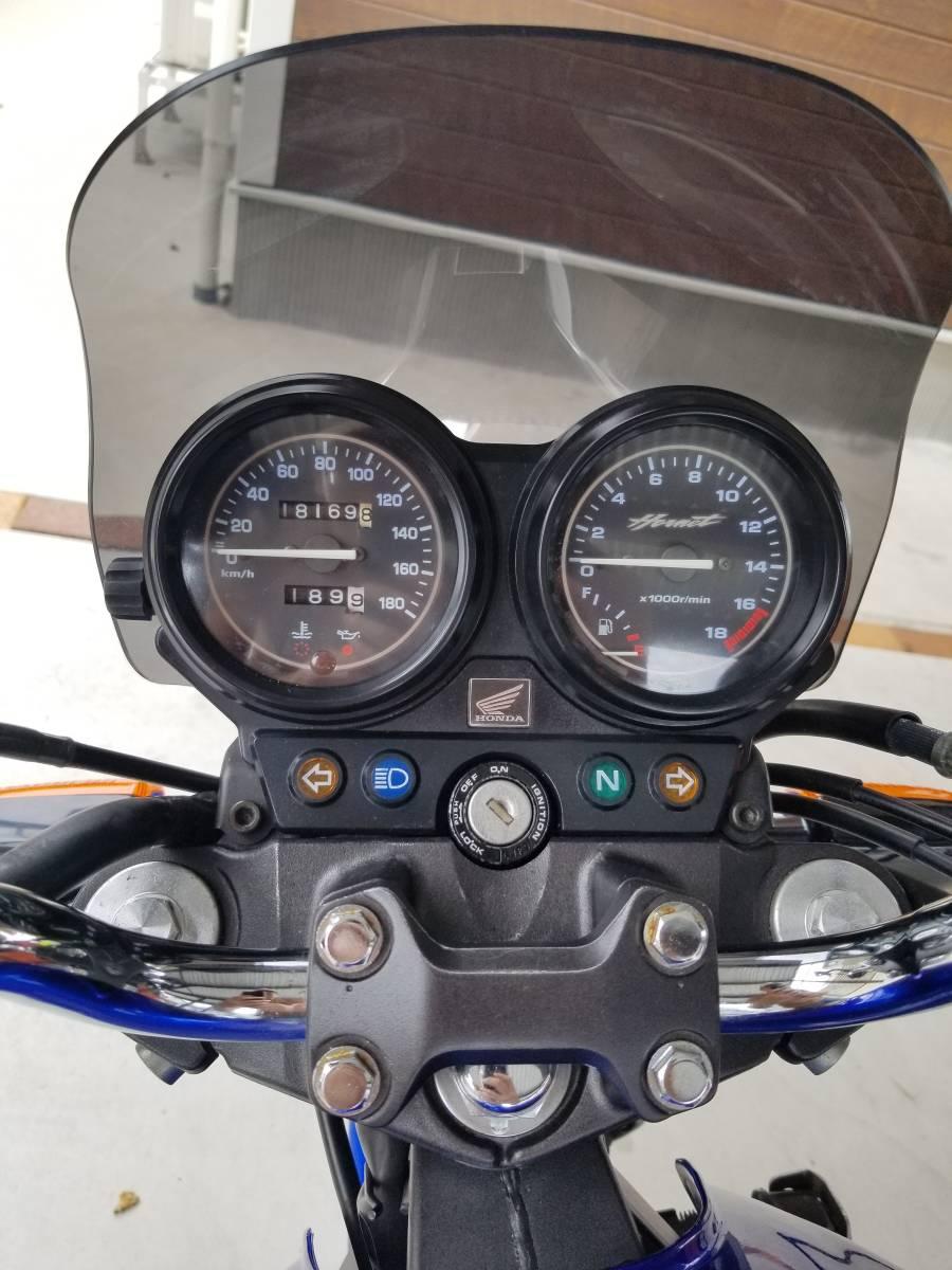 ホーネット250 ホンダ HORNET HONDA MC31-140*** 2005年以降ガソリンメーター付 後期型 実動車_画像4