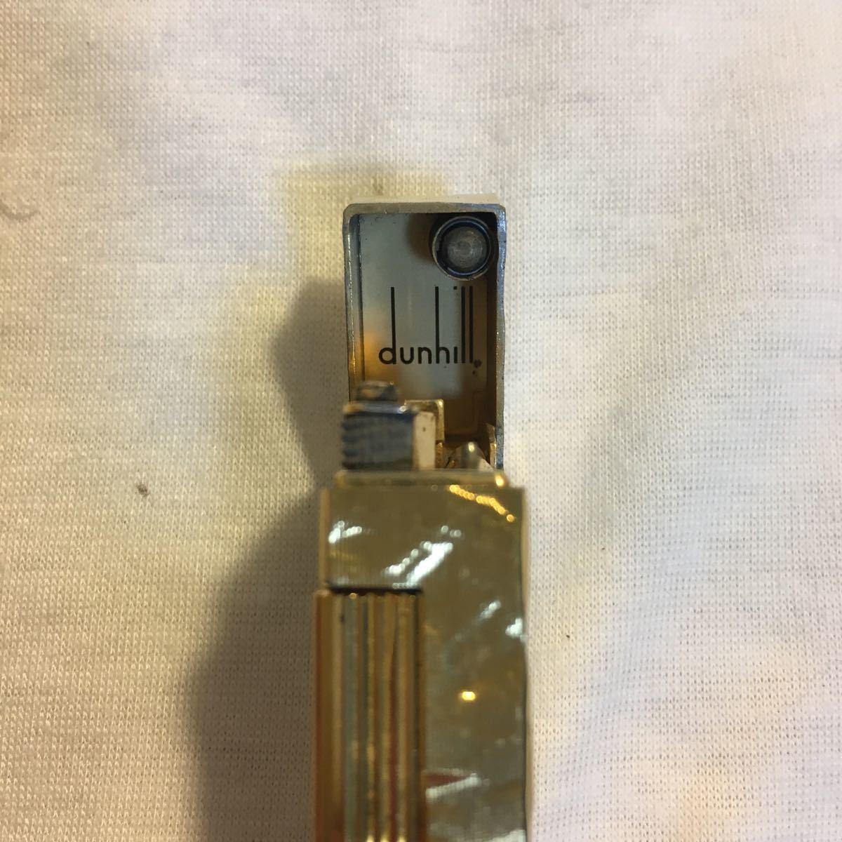 ダンヒルライター 総重量 約77.62g ゴールド ガスライター ブランド コレクション dunhill swiss made_画像7