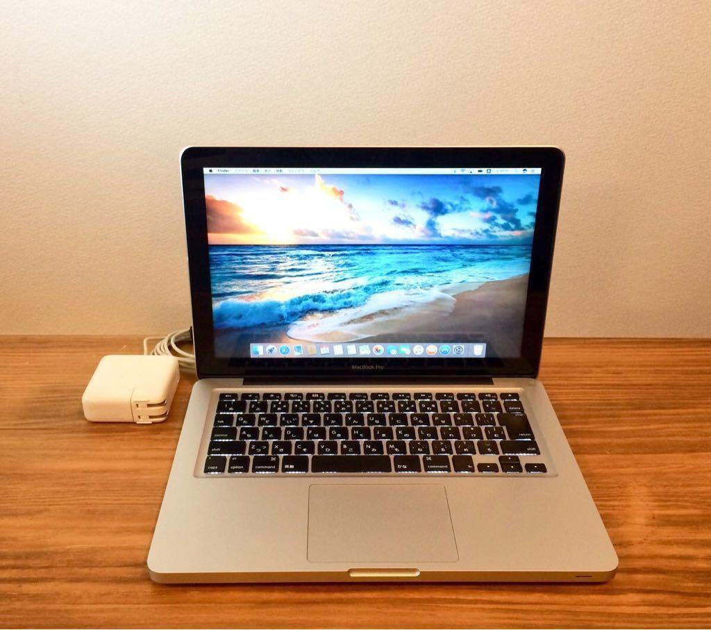 最上位最強!新品超大容量SSD960GB&新品超速メモリー16GB&大容量純正バッテリー MacBookPro MD102J/A i7 2.9GHz(3.6GHz) 最新OS対応/Mojave