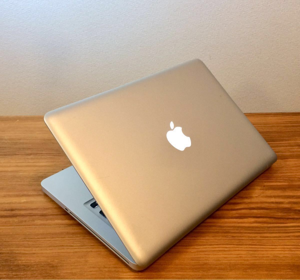 最上位最強!新品超大容量SSD960GB&新品超速メモリー16GB&大容量純正バッテリー MacBookPro MD102J/A i7 2.9GHz(3.6GHz) 最新OS対応/Mojave_画像4