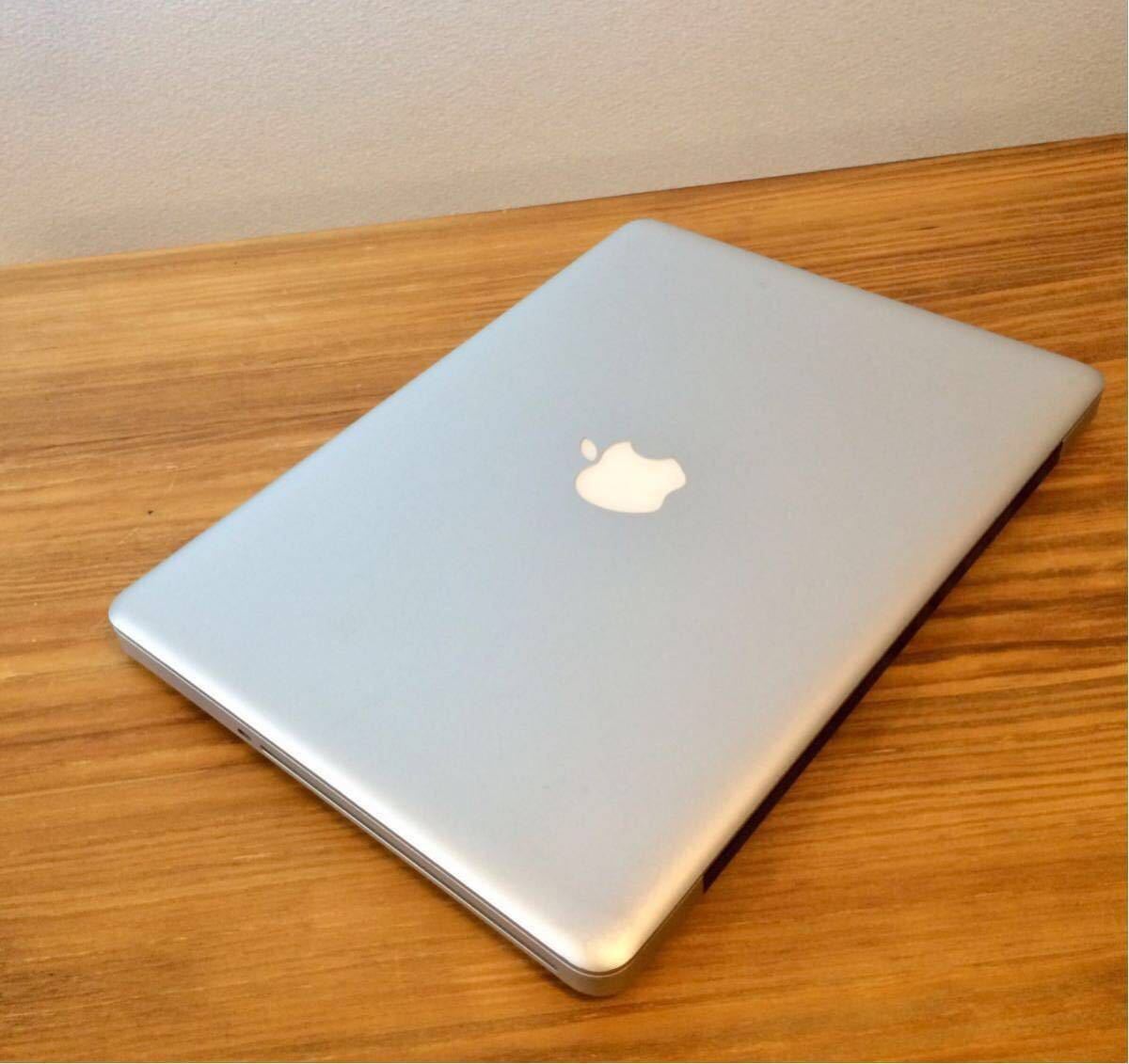 最上位最強!新品超大容量SSD960GB&新品超速メモリー16GB&大容量純正バッテリー MacBookPro MD102J/A i7 2.9GHz(3.6GHz) 最新OS対応/Mojave_画像7