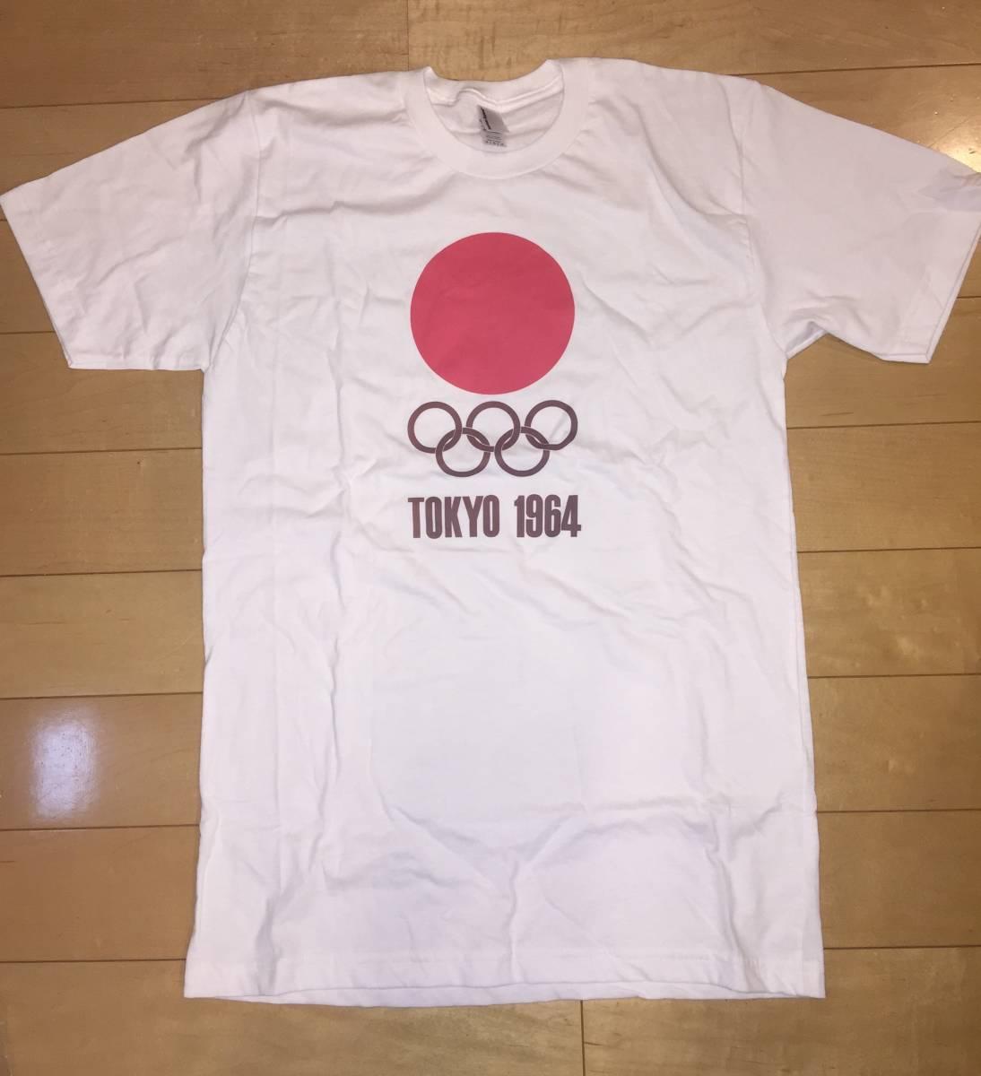 東京オリンピック 1964 Tシャツ American apparel サイズ注意 送料無料!