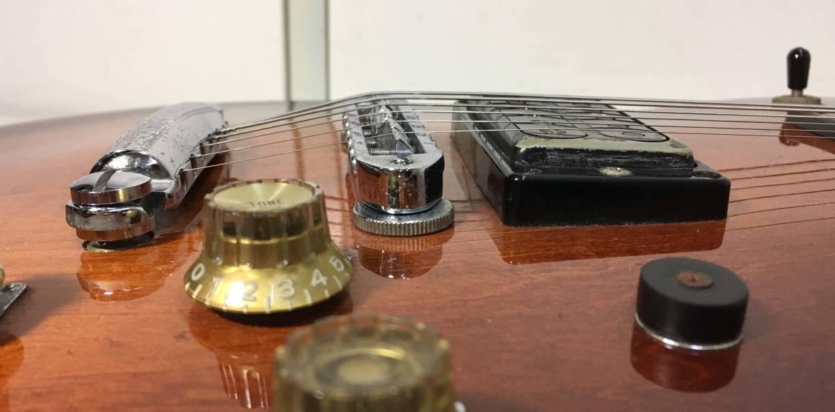 YAMAHA ★ エレキギター SG800 ハードケース付 シリアルナンバー 002506 6桁 ヤマハ ビンテージ ギター 楽器 天竜工場 日本製 ヴィンテージ_画像7