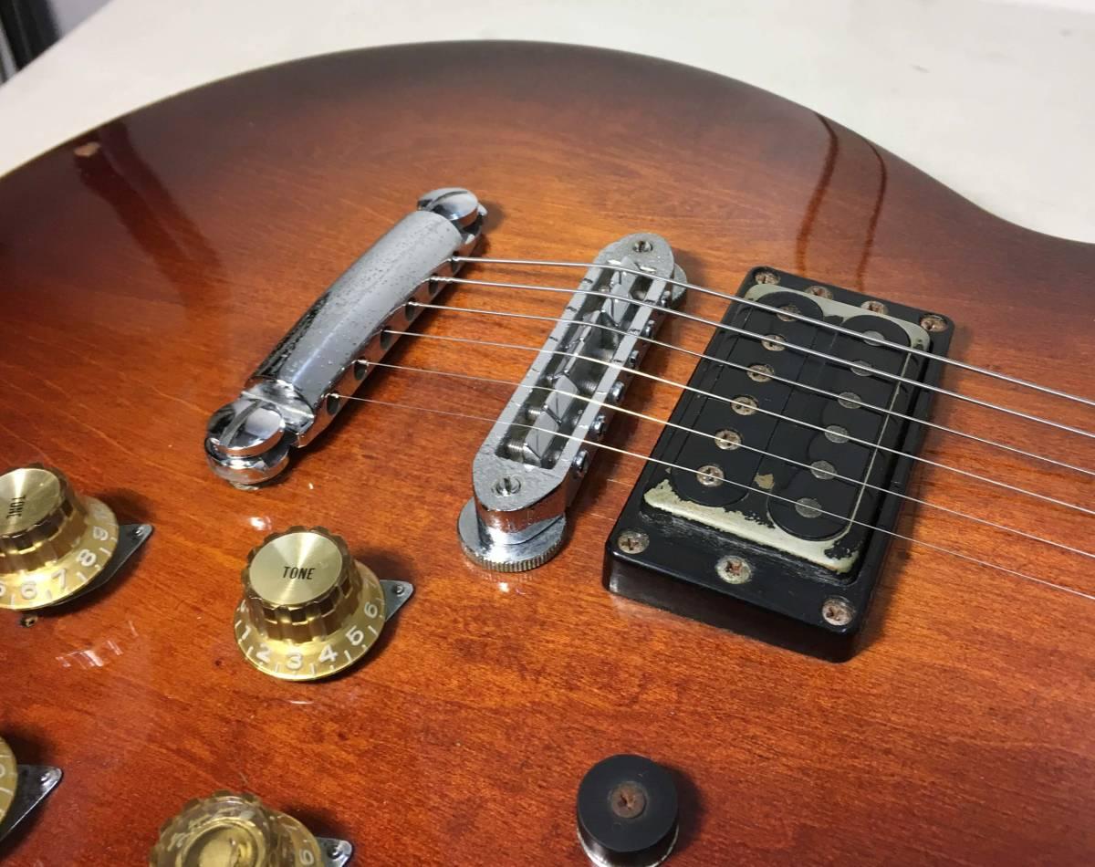 YAMAHA ★ エレキギター SG800 ハードケース付 シリアルナンバー 002506 6桁 ヤマハ ビンテージ ギター 楽器 天竜工場 日本製 ヴィンテージ_画像8