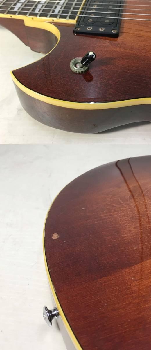 YAMAHA ★ エレキギター SG800 ハードケース付 シリアルナンバー 002506 6桁 ヤマハ ビンテージ ギター 楽器 天竜工場 日本製 ヴィンテージ_画像9