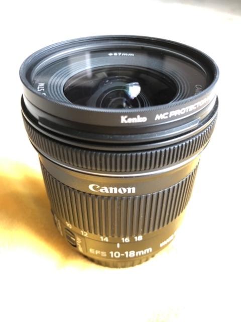 Canon キャノン EF-S 10-18mm F4.5-5.6 IS STM 中古品