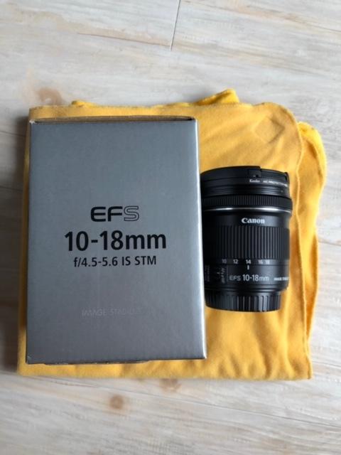 Canon キャノン EF-S 10-18mm F4.5-5.6 IS STM 中古品_画像4