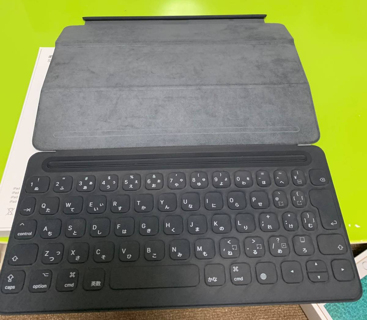 【2年使用:本体とキーボードとpencilをセットで】iPad Pro 10.5インチ docomo 256GB [ゴールド]&Smart Keyboard&ApplePencil_画像3