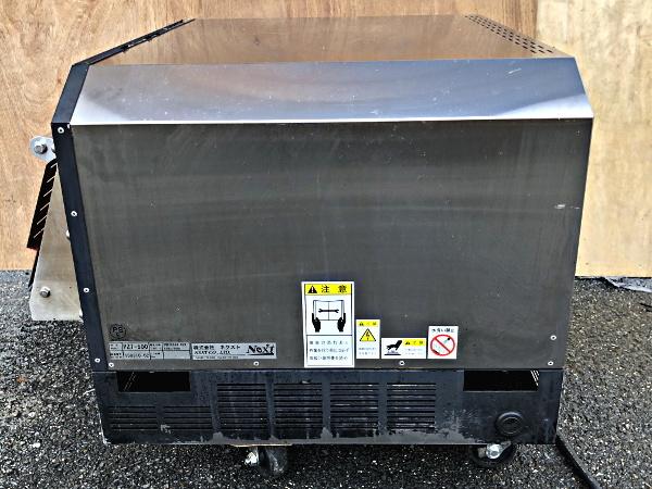 ネクスト NEXT PZT-500 2015年製 電気石窯オーブン 200V仕様 ピザ窯 ナポリピッツァ専用500℃対応②_画像6